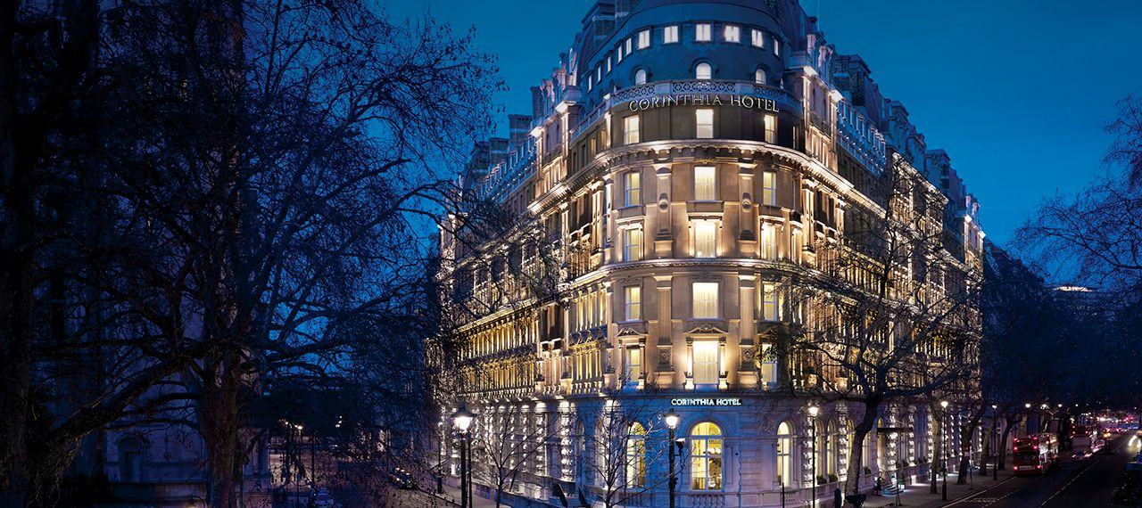 Corinthia Hotel: A great base for shopping and the sights of the city, the Corinthia Hotel has great views over the Thames and offers a modern designer's take on the luxury hotel.