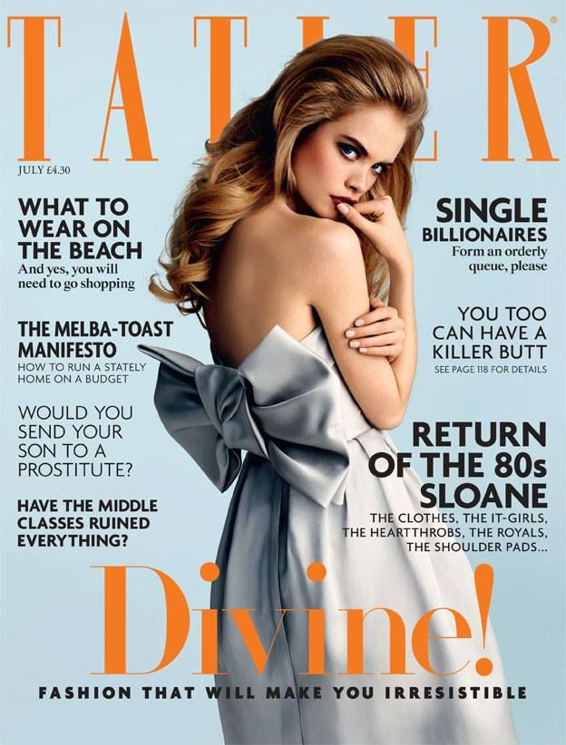 Tatler UK July 2014