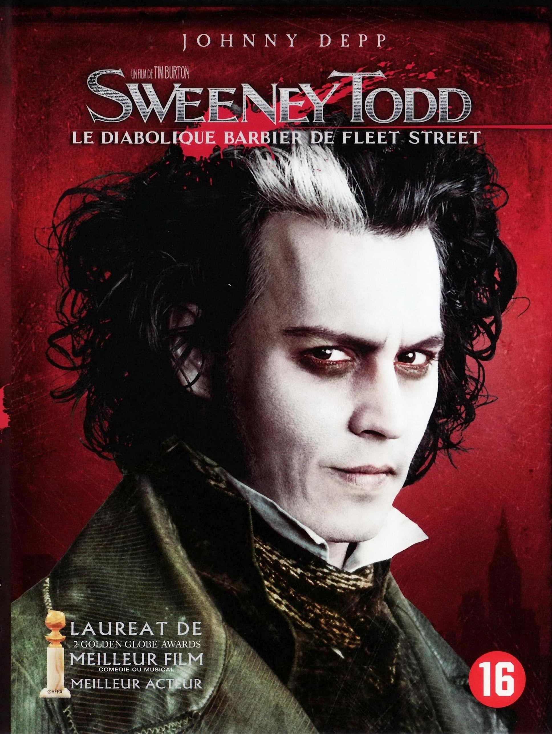 Sweeney Todd Sweeney Todd Fleet Street Johnny Depp