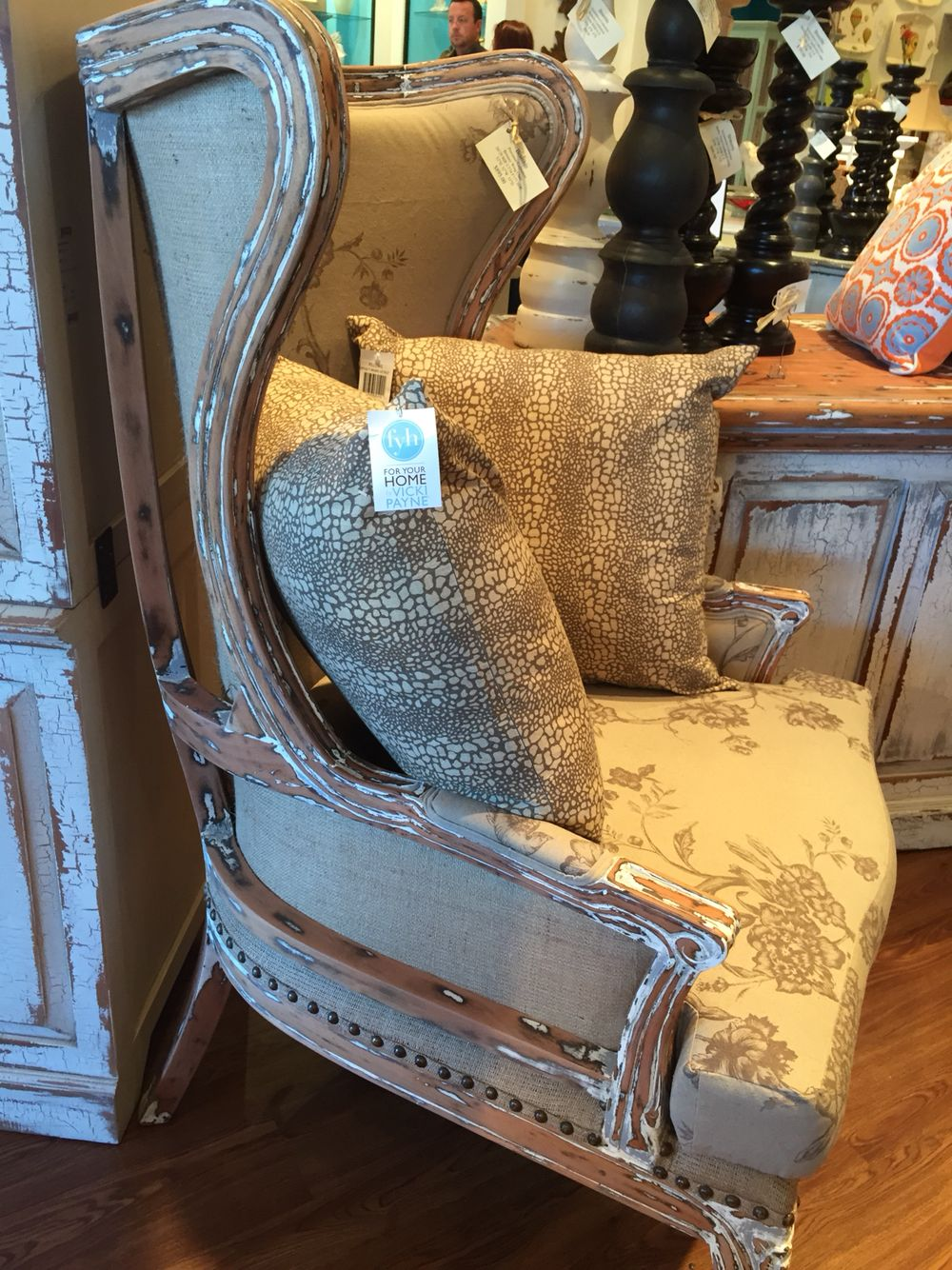 Want this chair $890 at The Brass Exchange