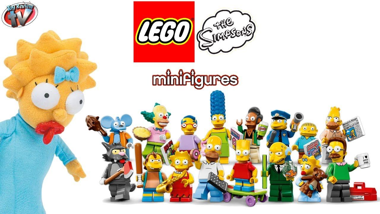 LEGO The Simpsons Mystery Minifigure Blind Bags Toy Review, 71005  on http://www.princeoftoys.visiblehorizon.org