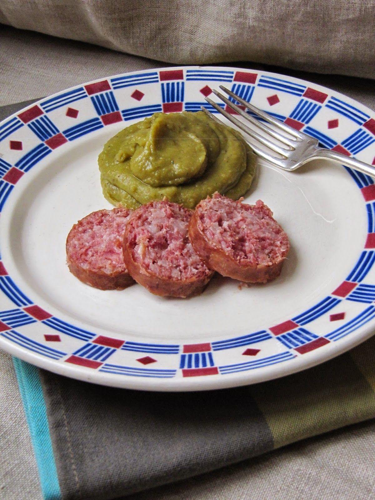 La cuisine d'ici et d'ISCA: Saucisse de Morteau et purée ...
