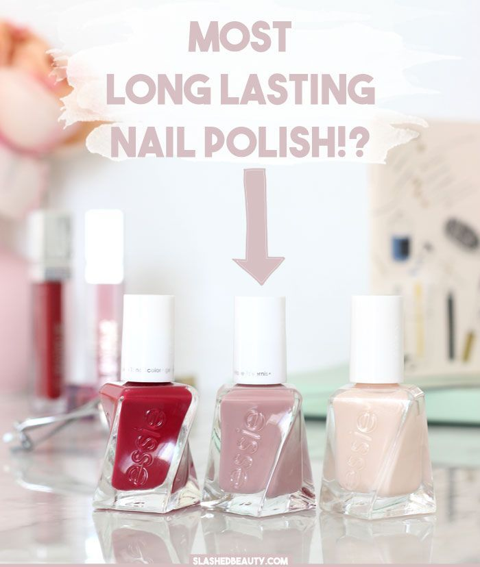 Most Long-Lasting Polish: Essie Gel Couture Review