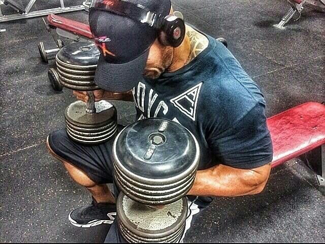 The Rock says... Dear Dumbells, send your soul to heaven, cause your ass is mine. #BeastPrayer #KillTheBells http://t.co/ctE3MY7gw4