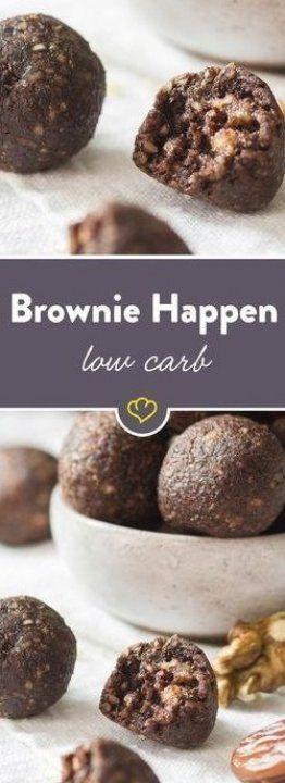 Brownies schmecken immer  Mit Waln  ssen und Datteln verfeinert  werden sie zu einer kalorienarmen N...