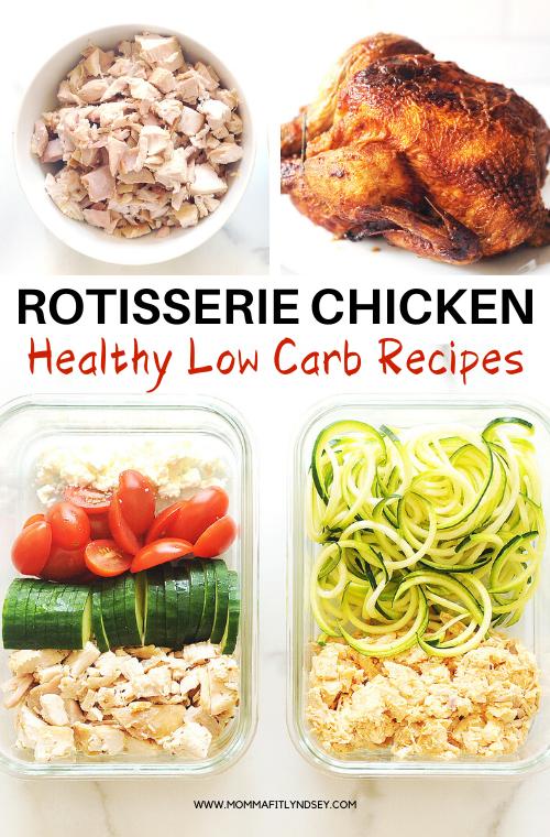 Low Carb Rotisserie Chicken Recipes Recipe Rotisserie Chicken Recipes Healthy Rotisserie Chicken Recipes Chicken Lunch Recipes
