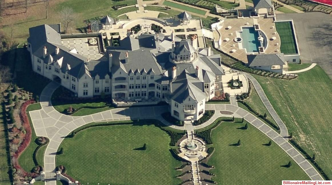 mega mansion with outdoor sports complex – rural pennsylvania