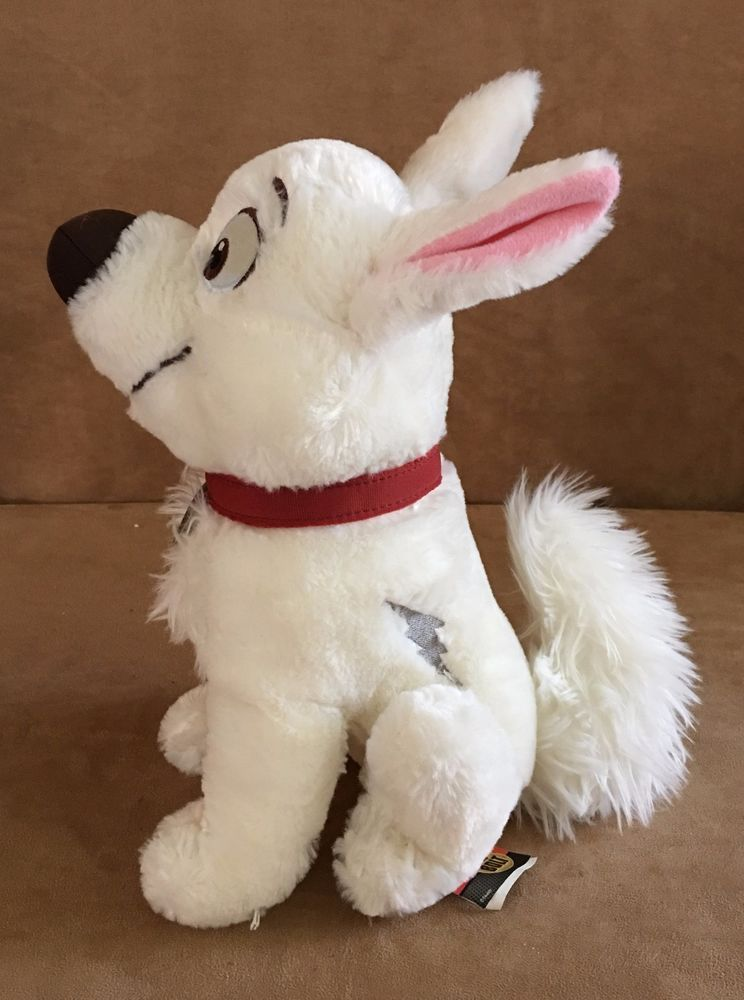 Bolt 11 Disney Store Stuffed Animal White Dog Le Movie Plush