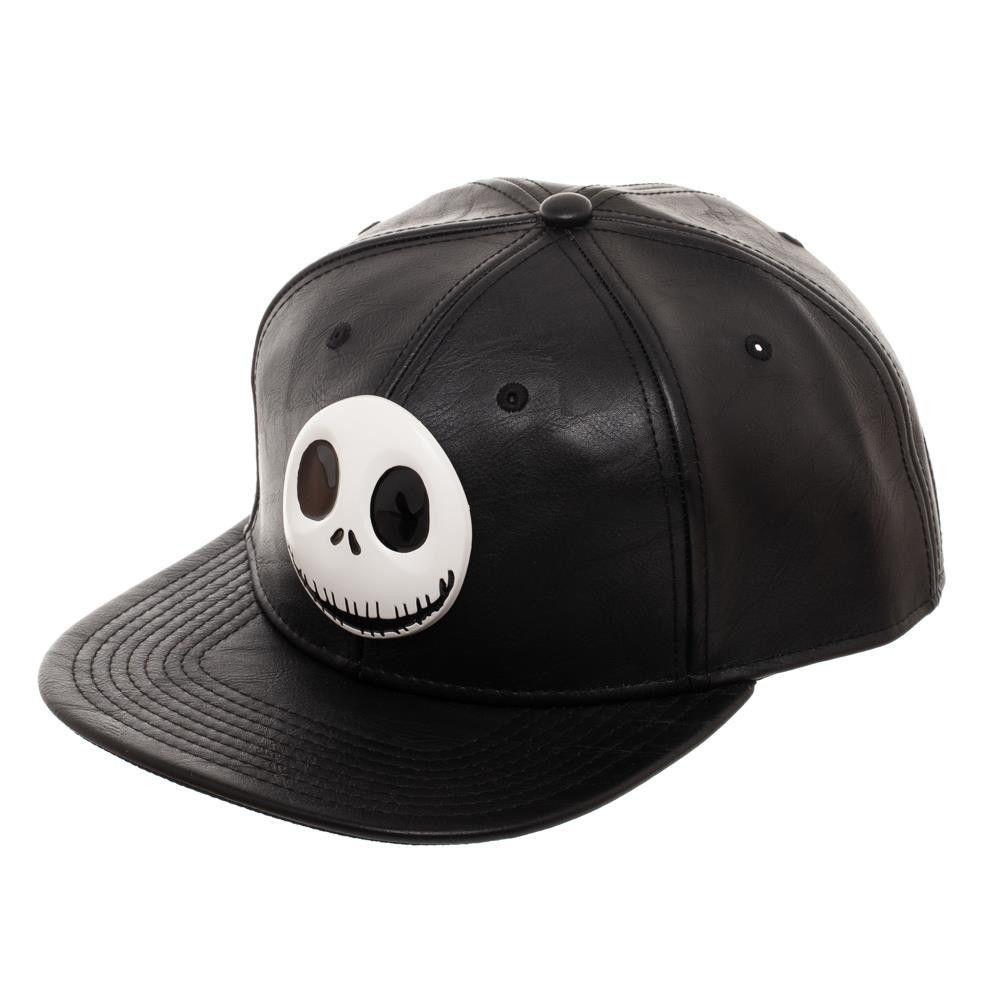 911c8e65 Nightmare Before Christmas Black Snapback Hat Cap Metal Emblem Disney Tim  Burton #Bioworld #Snapback