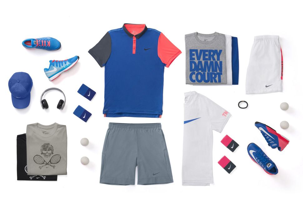 Nike Tennis Collection For Us Open 2014 Eu Kicks Sneaker Magazine Tennis Clothes Tennis Fashion Nike Tennis