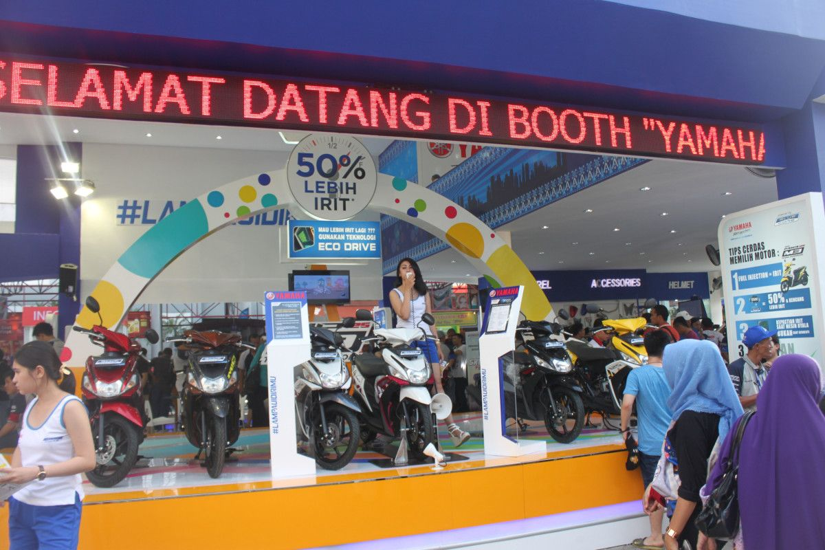Yamaha Siap Tebar Hadiah Menarik Lewat My Bike Is Pride di Indonesia International Motor Show
