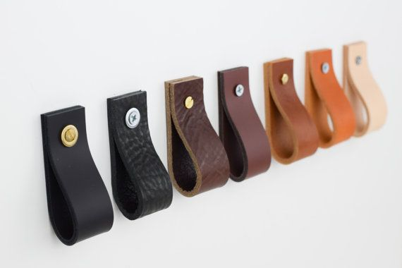 Leather Drawer Pulls Leather Pulls Leather Cabinet Pull Leather