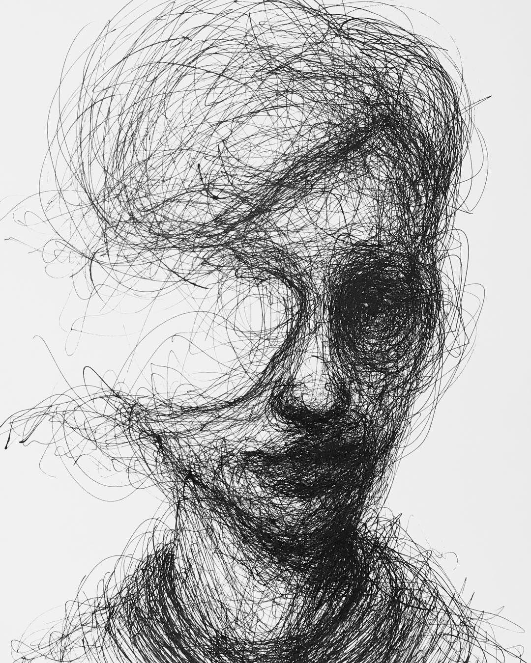 Adam Riches In 2019 Dark Art Drawings Creepy Drawings