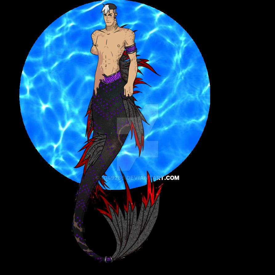 Merman Shiro from Voltron Legendary Defender Voltron