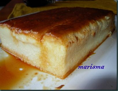 Flan con requesón