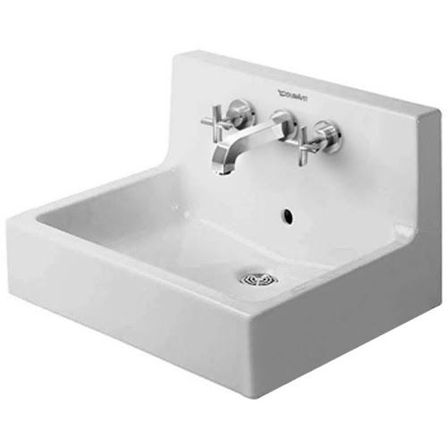 Duravit 4536000001 Vero Vessel Ceramic Bathroom Sink