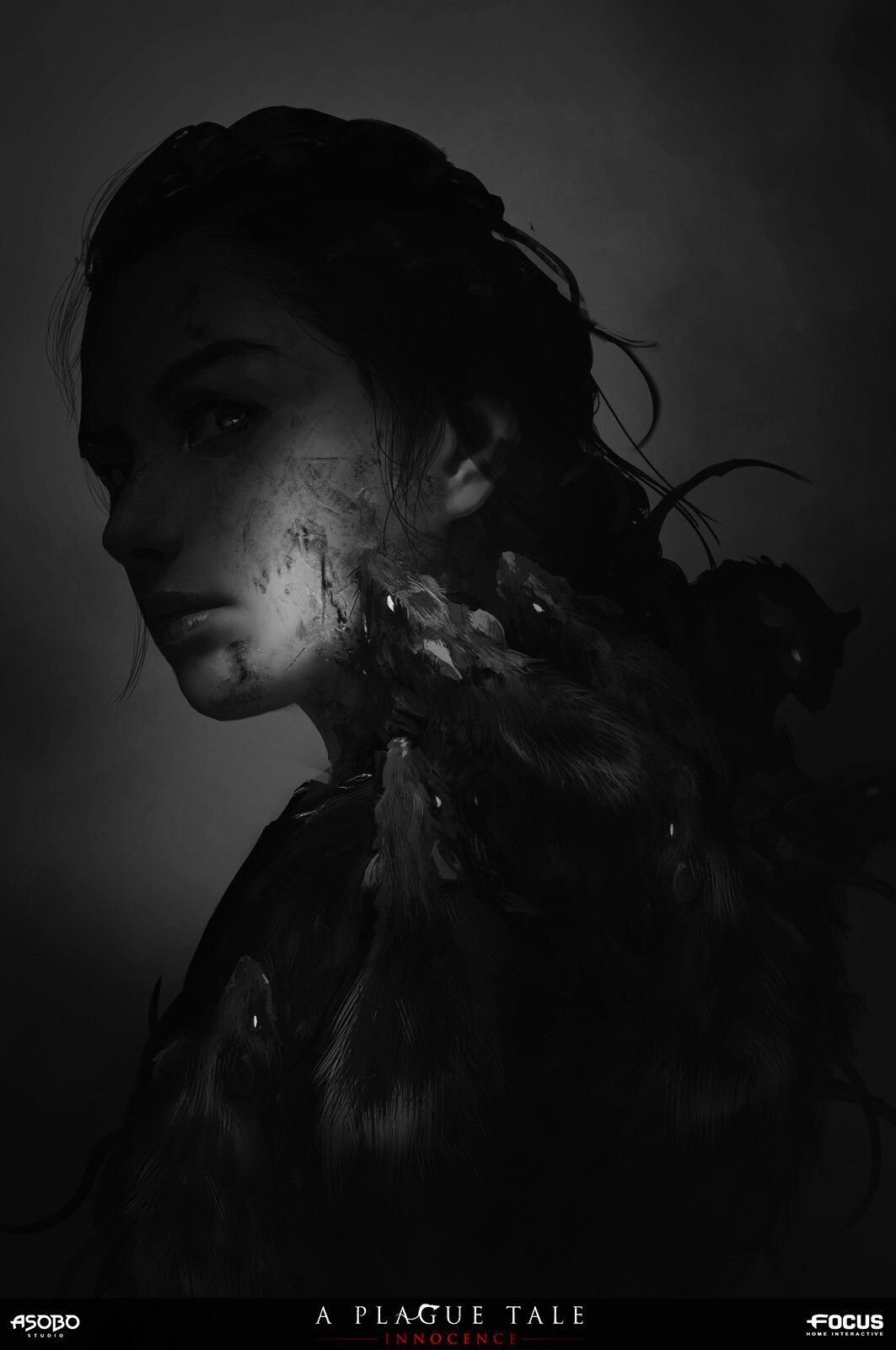 Artstation A Plague Tale Innocence Amicia And Rats Olivier