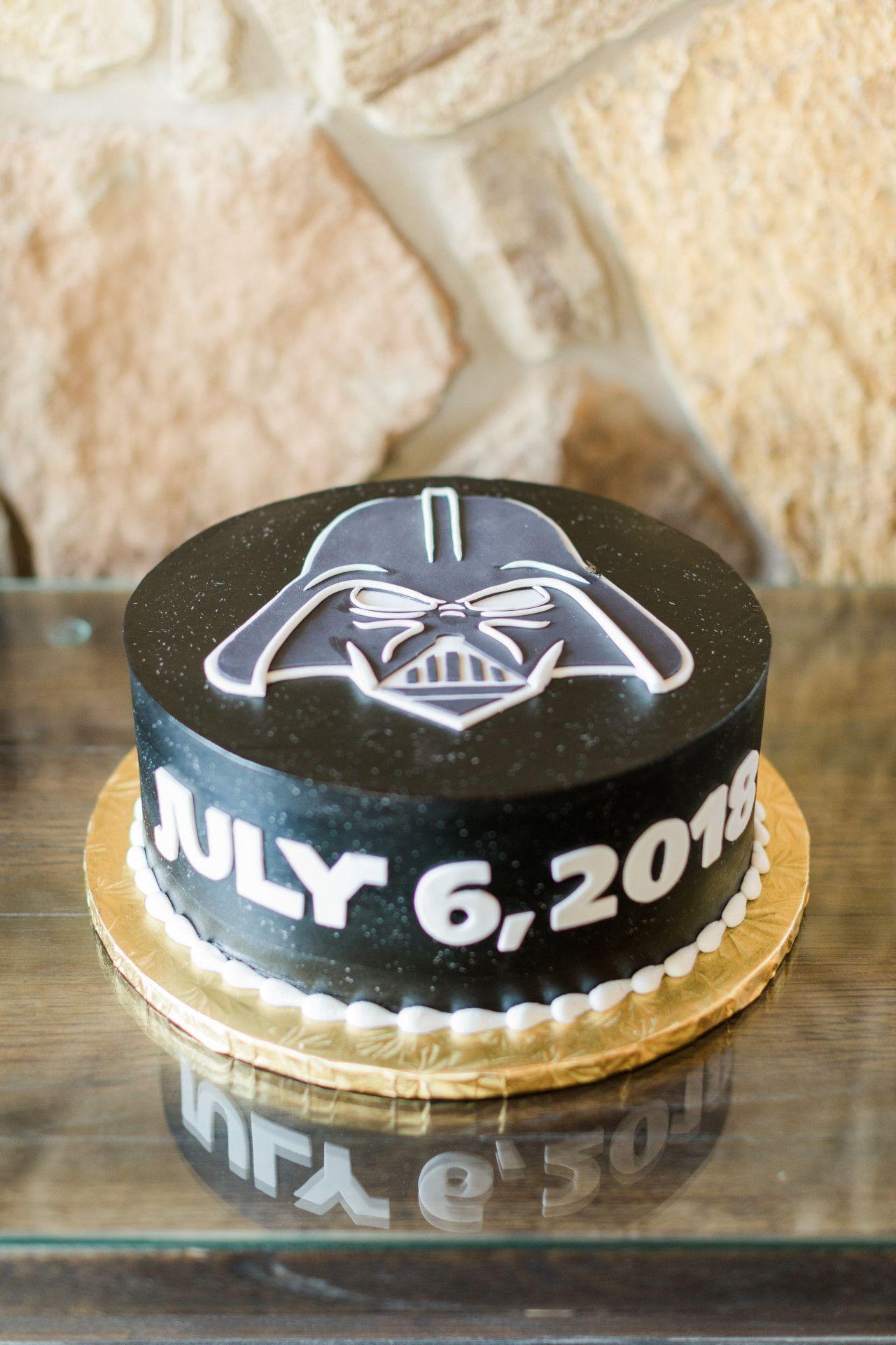 Star Wars Groom S Cake Darth Vader Groom S Cake Round One