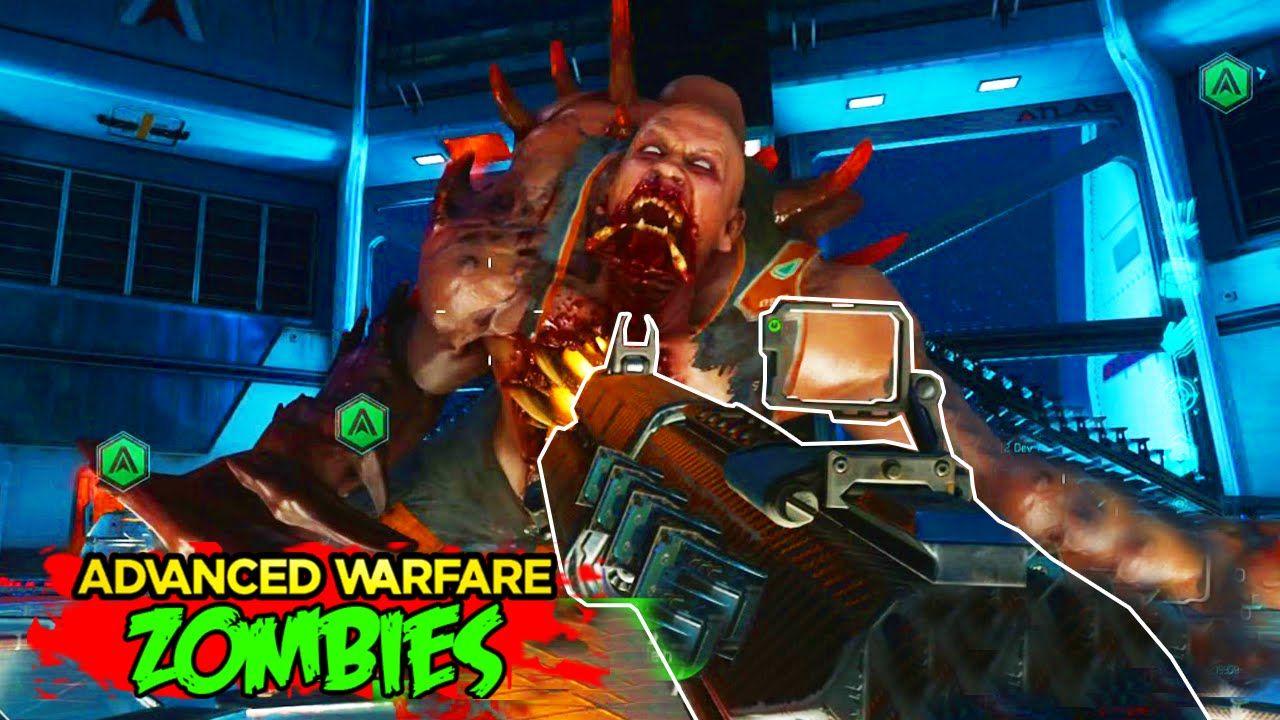 Exo Zombies Descent Oz Boss Zombie Gameplay Advanced Warfare Exo Zo Advanced Warfare Zombies Advanced Warfare Exo Zombies
