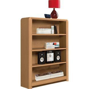 Hygena Strand Short Bookcase Oak Effect From Homebase Co Uk