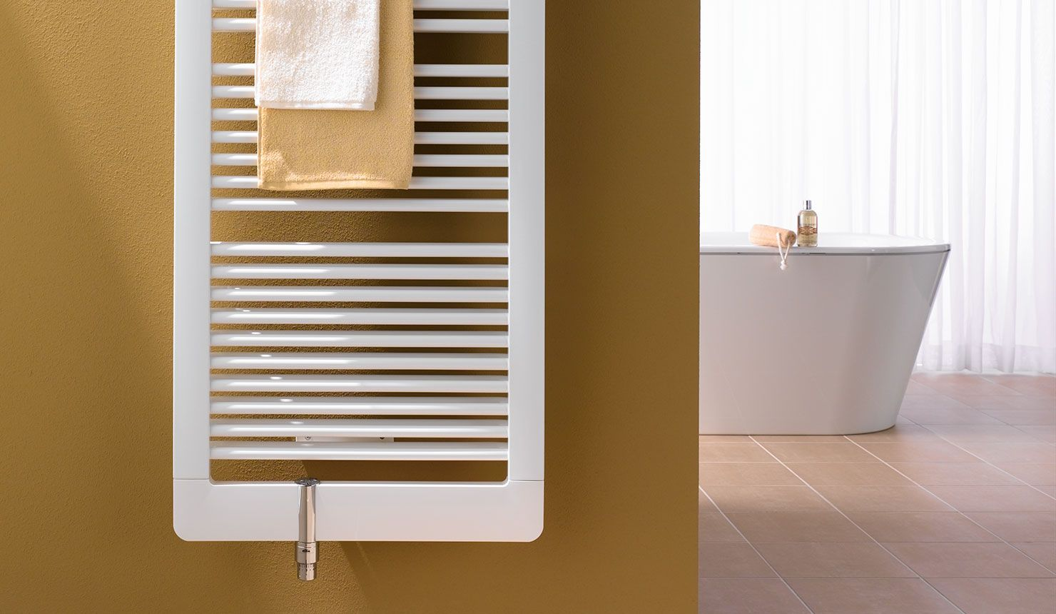 Radiator badezimmer ~ Kermi credo duo design und badheizkörper in modernem badezimmer