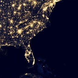 Blue Marble Navigator Night Lights Night Light Light Pollution Earth At Night