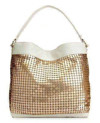 Inc International Concepts Bailey Leather Hobo Clearance Handbags Accessories Macy S