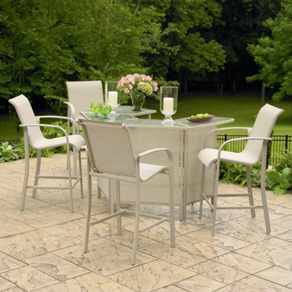Kmart Patio Sets | ... Smith Today Dutch Harbor 4-piece Patio Bar Chairs –  now $170 @ Kmart - Kmart Patio Sets Smith Today Dutch Harbor 4-piece Patio Bar