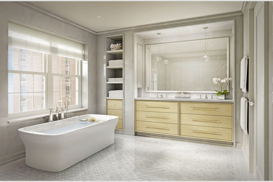 488 Central Park West 48B Stribling Associates Bathroom Stunning Central Park Bathrooms