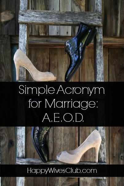 Acronym for love in marriage