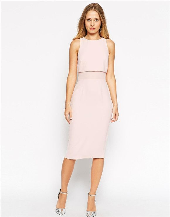 sheer and solid soft pencil dress what should a bride wear to her bridal shower everafterguide