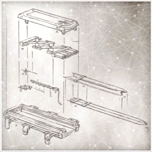Blueprint For A Hidden Blade By Really Looking At It You Can See How
