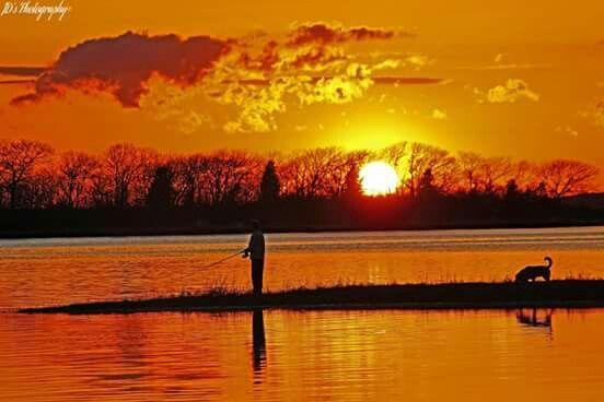 Sunset at Cape Cod!