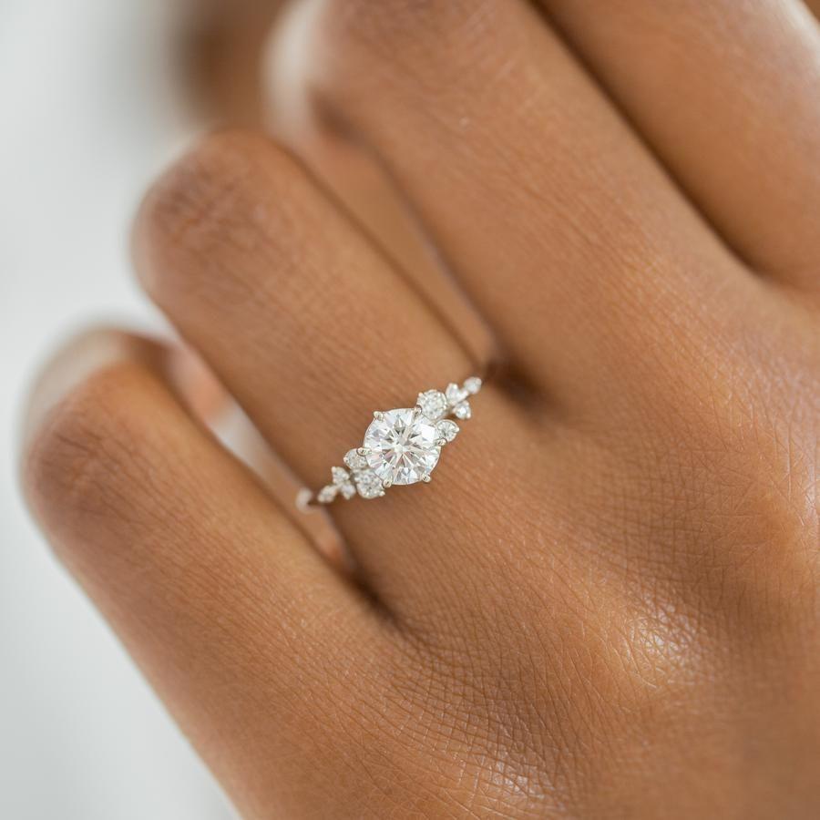 Photo of Diamond Snowdrift Ring, Made-to-Order