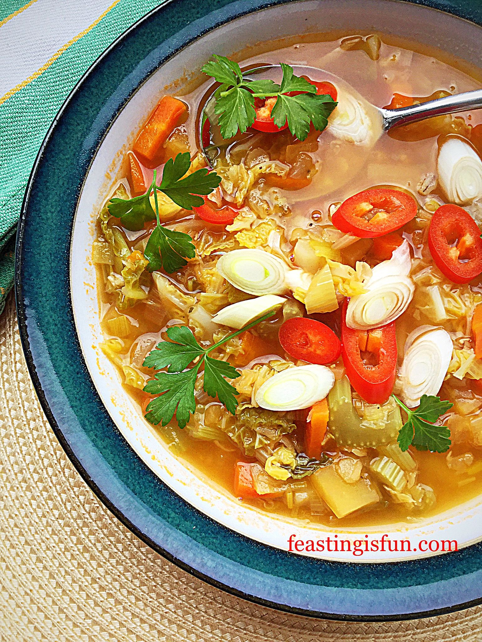 weight watchers garden vegetable soup
