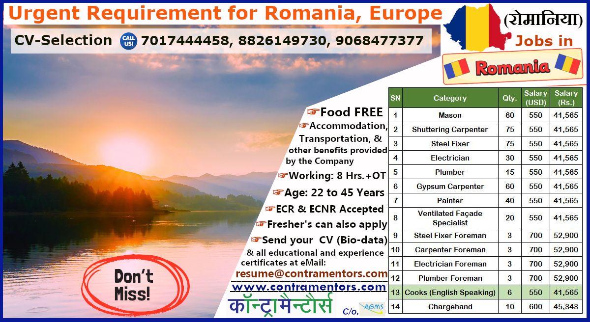 Jobs in romania best opportunity after lockdown 2020 in