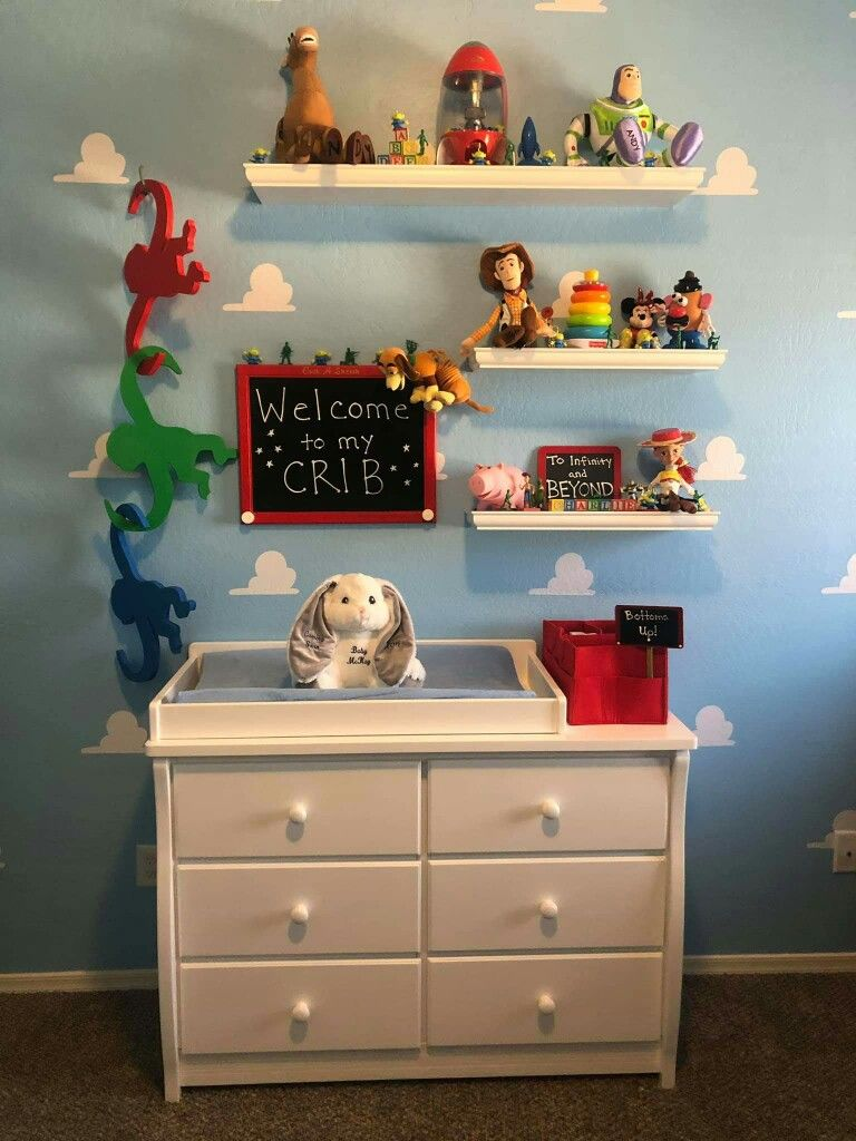 Pin By Candace Mckay On Nursery Ideas Toy Story Nursery Toy