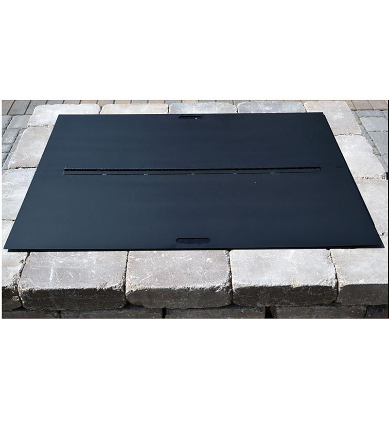 Stainless Steel Square Fire Pit Cover Square Fire Pit Cover Square Fire Pit Fire Pit Cover