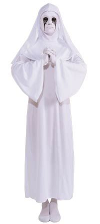 White Nun Halloween Costume - American Horror Story Costumes  sc 1 st  Pinterest & White Nun Halloween Costume - American Horror Story Costumes ...