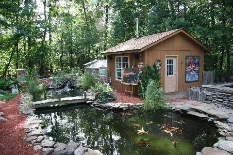 Kimmy koi has upgraded their facility adding a new for Koi pond greenhouse
