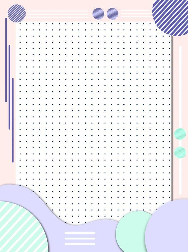 Pink Sleek Minimalist Memphis Style Background