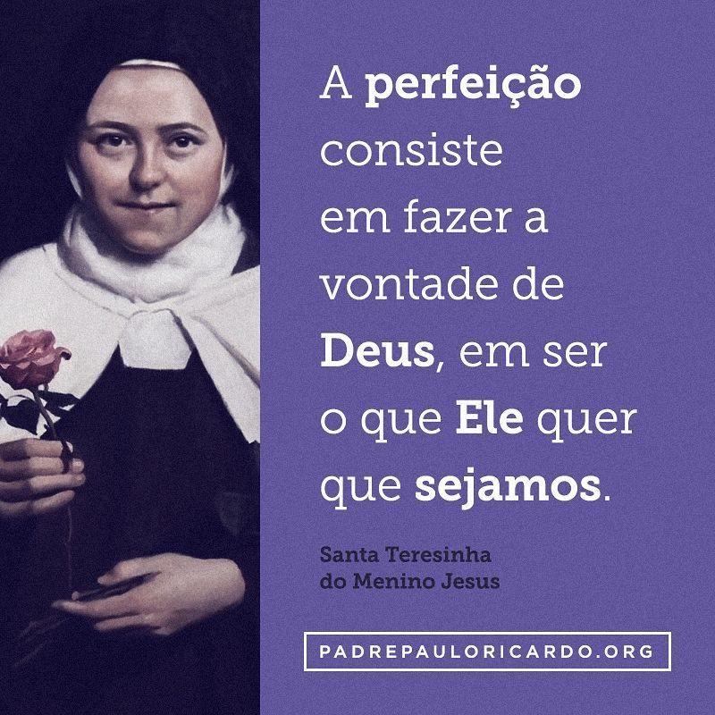 Santa Teresinha Do Menino Jesus E Da Sagrada Face Frases A
