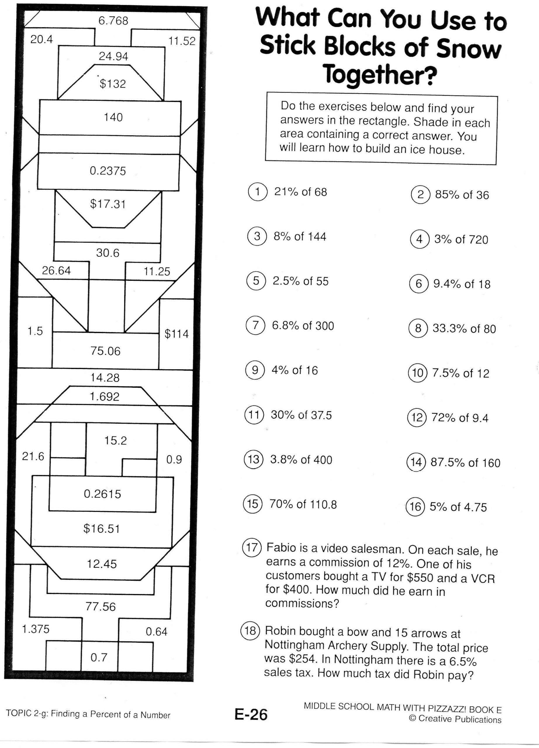 6th Grade Math Puzzles Printable 7th Grade Math Puzzles Google Search In 2021 Maths Puzzles Math Logic Puzzles 7th Grade Math