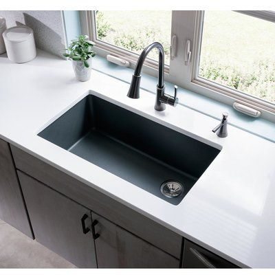 Best Elkay Quartz Classic 33 L X 19 W Undermount Kitchen Sink 400 x 300