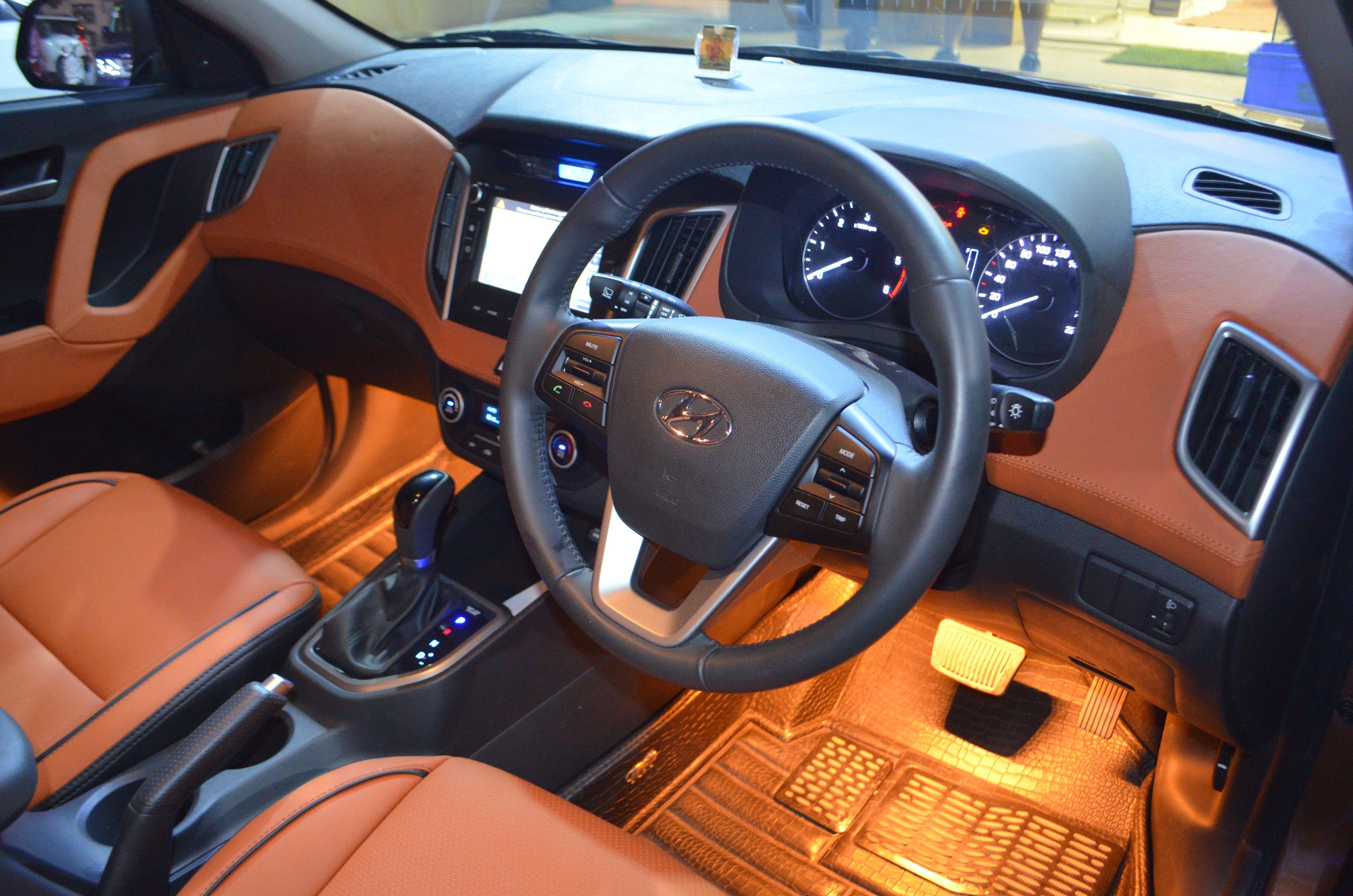 Car interior design done in hyundai creta carinteriordécor uniquedesign must