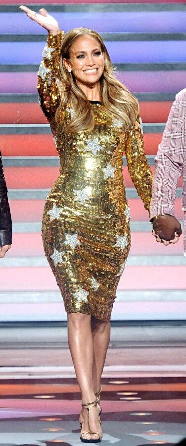 Pin By Sherrelle Tann On Favorite Celebrity Style Jennifer Lopez Dress Dresses Gold Dress