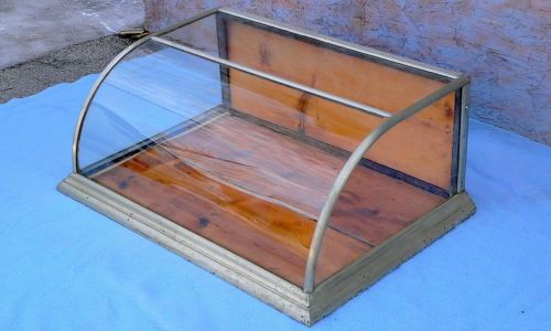 Antique Curved Glass 36 Quot Countertop Country Store Display
