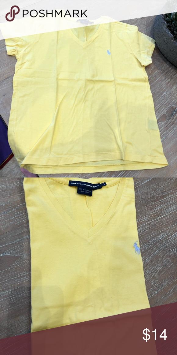 3955fcc0 Ralph Lauren Sport V-Neck T-Shirt , Sz large Ralph Lauren Sport Women's