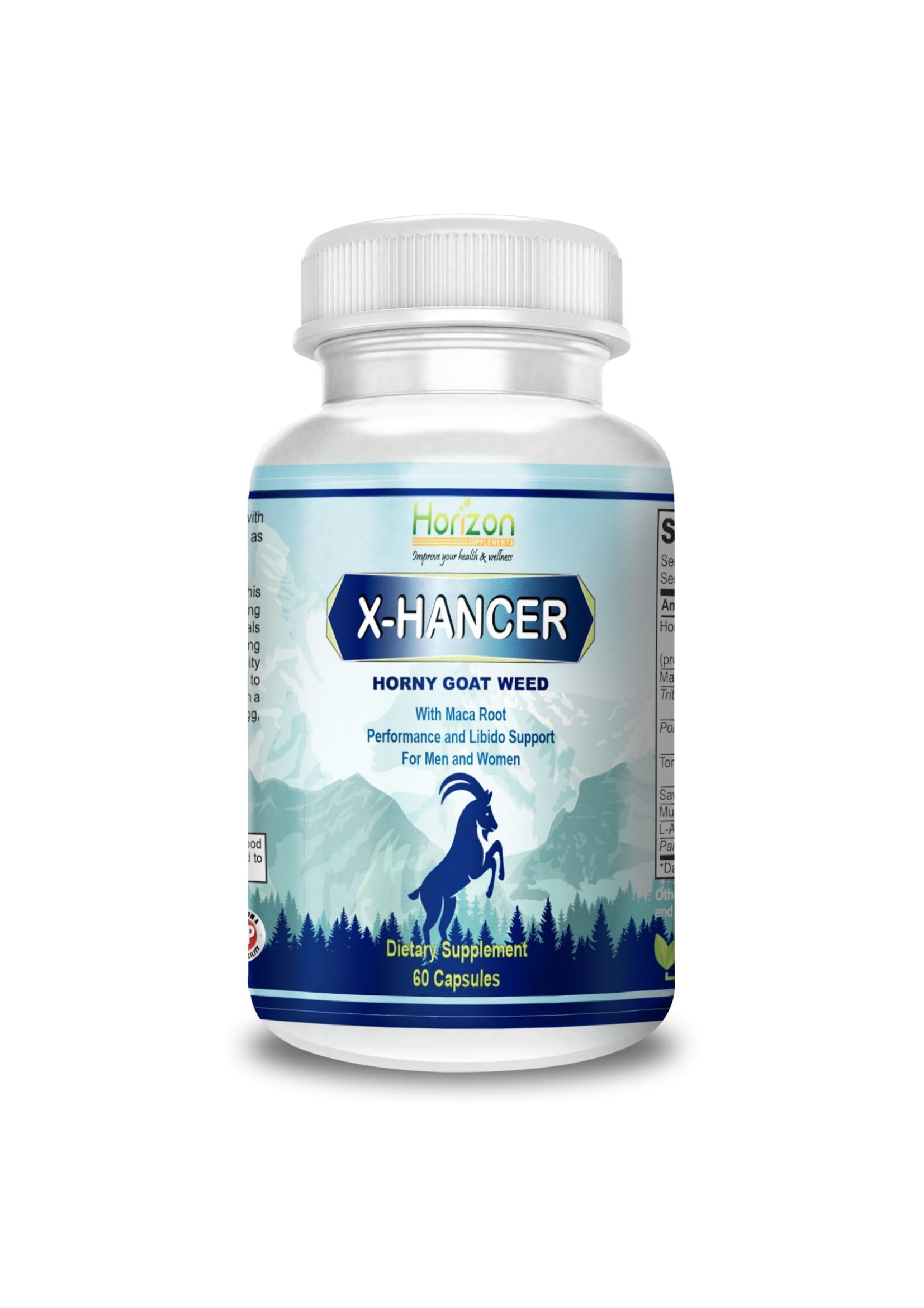 XHancer Best Potent Horny Goat Weed Extract with Maca Root â
