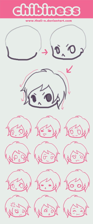 Expressions Tutoriais De Desenho Anime Tutorial De Desenho Desenho Chibi